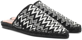 Missoni x Castaner Ross slipper espadrilles