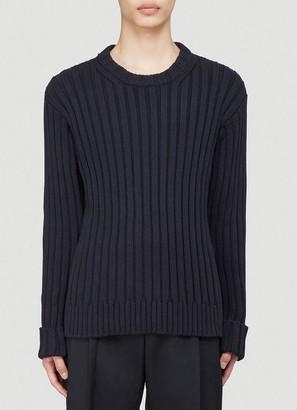 Maison Margiela Ribbed Knitted Sweater