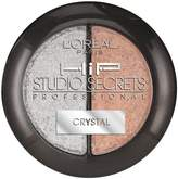 L'Oreal Paris Hip Studio Secrets Professional Crystal Shadow Duo, 919, Pack of 2