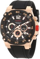 Redline Red Line Men's Aviator Chronograph Dial Silicone Watch RL-50032-RG-01