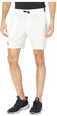 adidas Club SW Shorts 7 (White) Men's Shorts