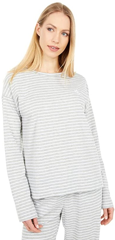 Lauren Ralph Lauren Long Sleeve Round Neck Separate Top Women's Pajama