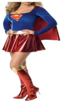BuySeasons BuySeason Women's Supergirl Deluxe Costume