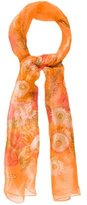 Salvatore Ferragamo Floral Printed Silk Scarf w/ Tags
