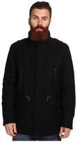 Cole Haan Wool Melton Carcoat