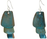 Robert Lee Morris Patina Drop Earrings