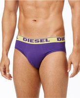 Diesel Men's Fresh & Bright Cotton Stretch Andre Briefs 3-Pack