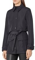 Reiss Dale Short Trench Coat