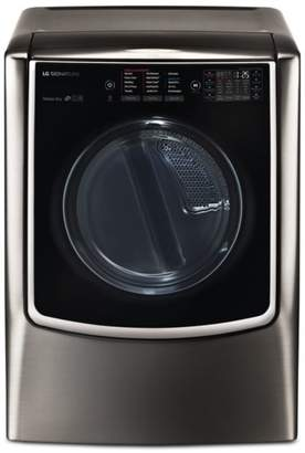 LG Electronics SIGNATURE Large Smart Wi-Fi-Enabled Electric Dryer with TurboSteamTM #DLEX9500K