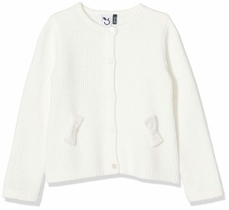 3 Pommes Baby Girls' 3p18002 Tricot Basique Cardigan