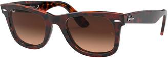 Ray-Ban Men's Original Classic Wayfarer Acetate Gradient Sunglasses