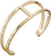 Sam Edelman Crinkle Metal Cuff Bracelet