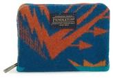 Pendleton Men's Mini Accordion Wallet - Blue