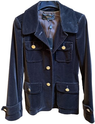 Georges Rech Brown Velvet Jacket for Women