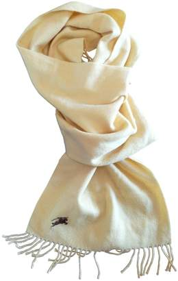 Burberry Yellow Cashmere Scarves & pocket squares