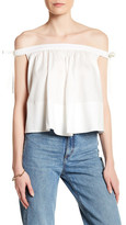Cynthia Rowley Off-the-Shoulder Blouse