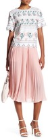 Endless Rose Pleated Cropped Pant