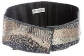 Christian Dior Embellished Waist Belt