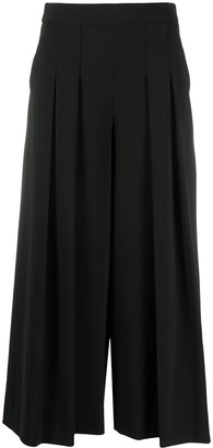 Boutique Moschino Pleated Wide-Leg Trousers
