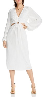 Lini Florence Pleated Waist-Cutout Dress - 100% Exclusive