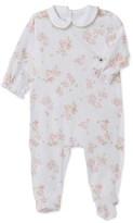 Petit Bateau Baby girls print sleepsuit