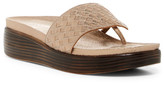 Donald J Pliner Fifi Woven Low Wedge Sandal