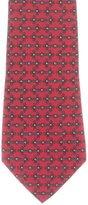 Hermes Rope Print Silk Tie