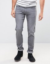 Lee Luke Skinny Jean Authentic Grey Wash