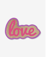 Express kitsch love patch sticker