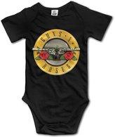 Funnyshop Baby Boys Girls Guns N' Roses Concert NOT IN THIS LIFETIME Bodysuit Onesies