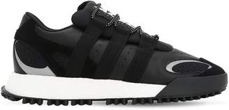 adidas By Alexander Wang Aw Wang Body Run Leather & Mesh Sneakers