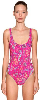 Etro Printed Lycra One Piece Swimsuit