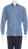 Luciano Barbera Gingham Woven Shirt