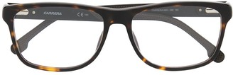 Carrera Full-Rim Tortoiseshell-Effect Glasses