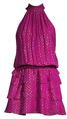 Ramy Brook Women's Christina Halterneck Mini Dress