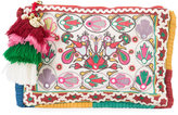 Figue Soma clutch - women - Cotton/Acrylic/Brass/Shell - One Size