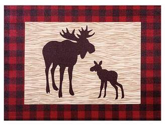 Trend Lab Canvas Wall Art - Northwoods Moose