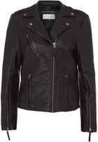 Maison De Nimes Cliff Faux Leather Jacket