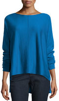 Eileen Fisher Long-Sleeve Merino Boxy Sweater
