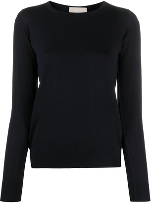 Drumohr Slim-Fit Crew-Neck Jumper