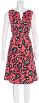 Carolina Herrera Printed Midi Dress w/ Tags