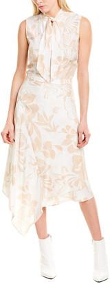 Max & Moi Silk A-Line Dress