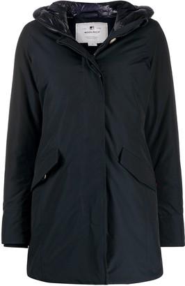Woolrich Zip-Up Down Jacket