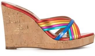 Aquazzura Sundance wedge sandals