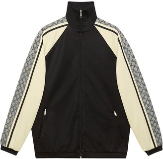Gucci Oversize technical jersey jacket