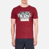 Boss Orange Terko 1 Logo Tshirt - Red
