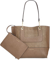 Calvin Klein Chain Reversible Tote With Pouch