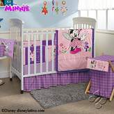 Disney Minnie Mouse Crib Bedding Set Sheets 5PC Comforter Bumper Guard HeadBoard Bear LIMITED EDITION by iN.