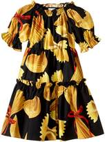 Dolce & Gabbana Pasta Poplin Dress (Toddler/Little Kids)