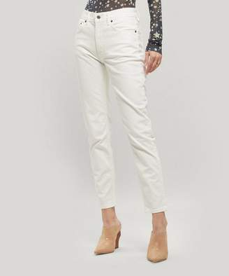 Acne Studios Melk High-Rise Slim Tapered Jeans